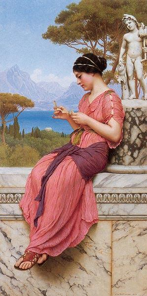 John William Godward Le Billet Doux